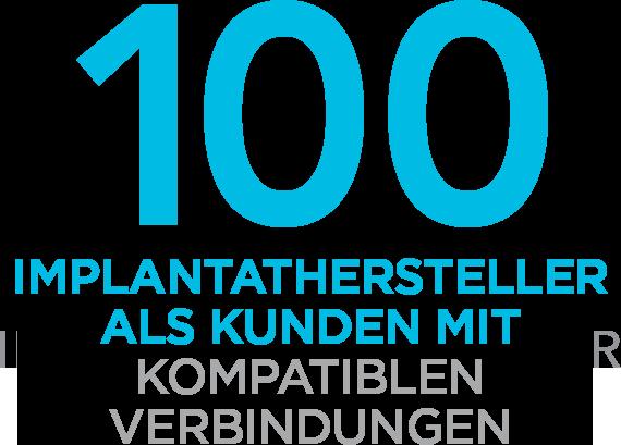 100 Compatible Implant Partners